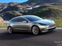 Tesla Model 3 установил рекорд «Пушечного ядра»