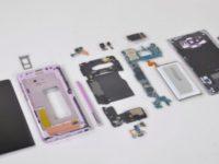 Samsung Galaxy Note 9 разобрали на детали
