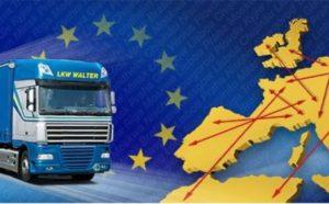 автомобильные международные грузоперевозки из России в Европу
