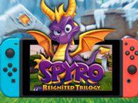 Spyro Reignited Trilogy для Nintendo Switch. Отличная игра для портативного гейминга